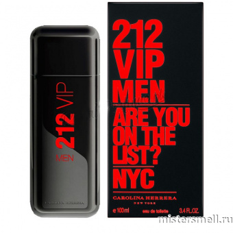 Купить Carolina Herrera - 212 VIP Limited Edition Men,  100ml оптом