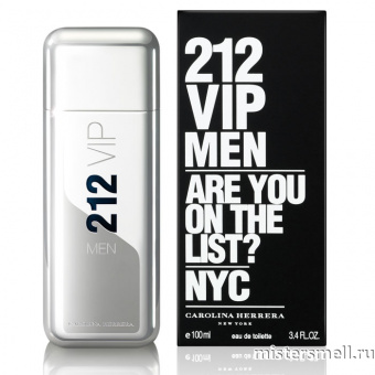 Купить Carolina Herrera - 212 Vip Men, 80 ml оптом