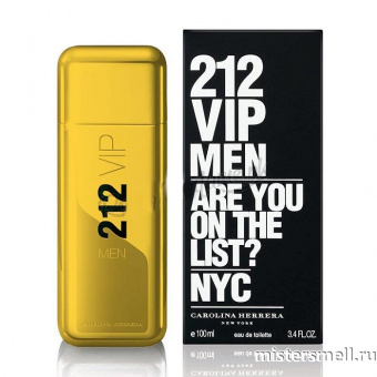 Купить Carolina Herrera - 212 Vip Men Gold, 100 ml оптом