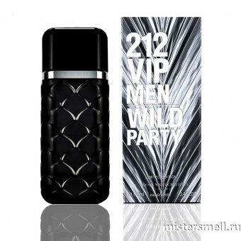 Купить Carolina Herrera - 212 Vip Men Wild Party, 100 ml оптом