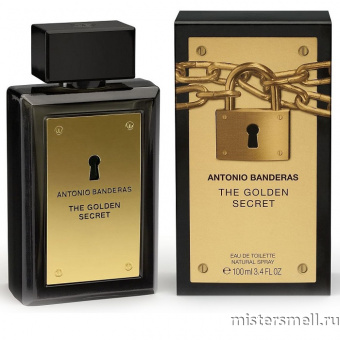Купить Antonio Banderas - The Golden Secret, 100 ml оптом