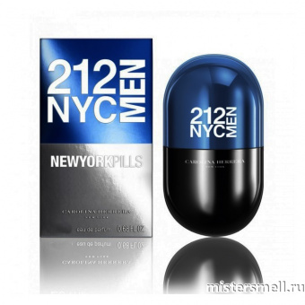 Купить Carolina Herrera - 212 NYC Men Pills, 80 ml оптом