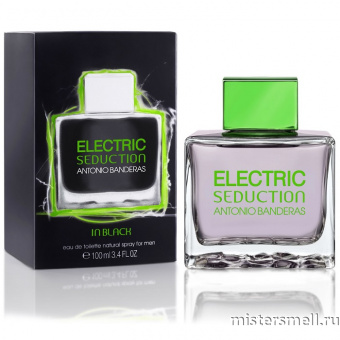 Купить Antonio Banderas - Electric Seduction in Black, 100 ml оптом