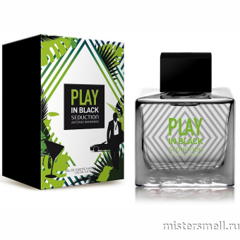 Купить Antonio Banderas - Play in Black Seduction for Men, 100 ml оптом