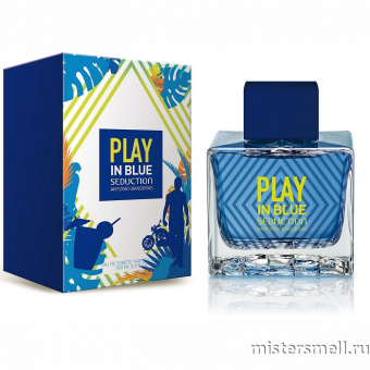 Купить Antonio Banderas - Play in Blue Seduction for Men, 100 ml оптом