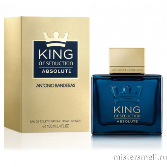 Купить Antonio Banderas - King of Seduction Absolute, 100 ml оптом