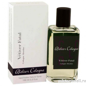 Купить Atelier Cologne - Vetiver Fatal, 100 ml оптом