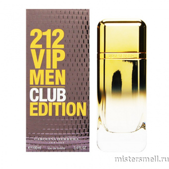 Купить Carolina Herrera - 212 Vip Club Edition Men, 100 ml оптом